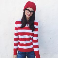 These 2018 Halloween outfits suggestions are actually just about all you should accomplish the best last-minute halloween costume. Last-Minute Halloween Costumes For Women Waldo. Halloween Costumes Women Creative, Easy Halloween Costumes For Women, Mom Costumes, Easy Diy Costumes, Last Minute Halloween Costumes, Costume Ideas, Halloween Diy, Mermaid Costumes, Couple Costumes