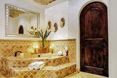 Cabo San Lucas, Mexico Spanish colonial style bath