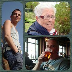 John en Arjan en Nel, 3 generaties