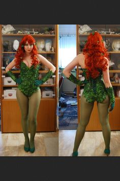 going with posion ivy for halloween.