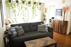 Stacey's Sunny Studio, how to setup your studio, studio arrangement ideas, apartment studio, small space ideas, apartment therapy