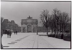 Tuilleries in the snow - Paris