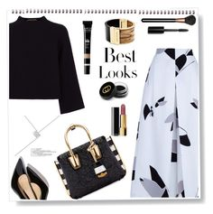"""Best looks"" by gul07 ❤ liked on Polyvore featuring TIBI, Garance Doré, Jaeger, MCM, Michael Kors, MML, Gucci, Bobbi Brown Cosmetics, MAC Cosmetics and Chanel"