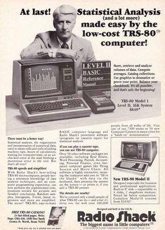 Radio Shack TRS-80 Ad.