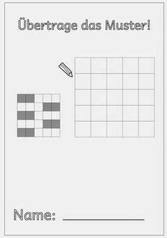 Lernstübchen: Übertrage das Muster!