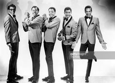 , Artist: Temptations., David Ruffin, Otis Williams, Paul Williams, Melvin Franklin and Eddie Kendricks