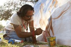 The Phoenix Mural Project by Downtown Devil. The first annual Phoenix Festival of the Arts this past weekend at Margaret T. Hance Park was vibrant with local art vendors, live music and Mayor Greg Stanton presenting awards to local artists.