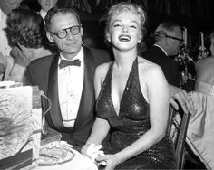 marilynmonroevideoarchives:Marilyn Monroe and Arthur Miller at the Paris Ball, Waldorf Astorial Hotel in NYC, April 11, 1957.