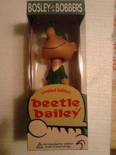 BEETLE BAILEY  BOBBLE HEAD FIGURE - CARTOON - COMICS