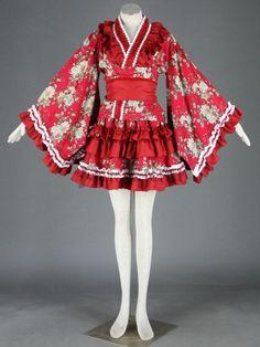 Gothic Lolita Fashion Short Dress Kawaii ONLY JAPAN