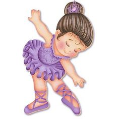 Discover recipes, home ideas, style inspiration and other ideas to try. Clipart Baby, Baby Ballerina, Ballerina Party, Painting Patterns, Fabric Painting, Kids Cards, Baby Cards, Famous Artists Paintings, Kids Cartoon Characters