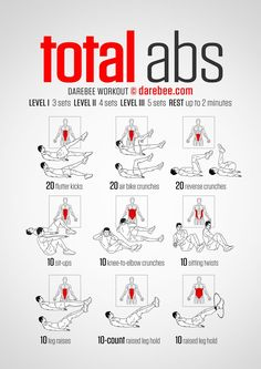 Total Abs - Darebee Workout