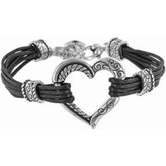 Brighton Bracelet.   Heritage Heart Heritage Heart Bracelet