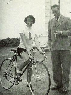 Eileen Sheridan's Land's End to John o' Groats record ride by Paris-Roubaix, via Flickr