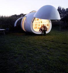 The Blob - a Unique Micro-Home by dmA Architecten