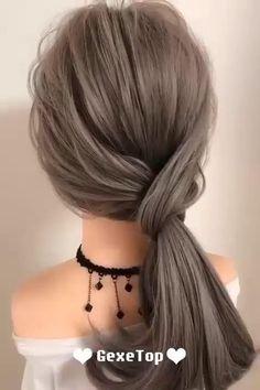 Easy Hairstyle Video, Super Easy Hairstyles, Bun Hairstyles For Long Hair, Work Hairstyles, Ponytail Hairstyles Tutorial, Hairstyles For Working Out, Wedding Ponytail Hairstyles, Athletic Hairstyles, Beach Hairstyles