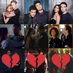 Alec and Lydia are out!!! My least favorite: Any of the middle 3 (I mostly care about the top 3 ). COMMENT YOUR LEAST FAVORITE 1. Clace 2. Malec 3. Sizzy 4. Luke and Jocelyn 5. Rizzy 6. Maia and Simon 7. ❌ 8. ❌ 9. ❌ #shadowhunters #clace #malec #sizzy #jocelynfray #lukegarroway #rizzy #maiaroberts #jacewayland #lydiabranwell