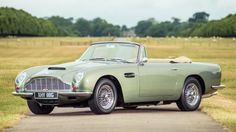 This 1968 Aston Martin DB6 Vantage Volante recently sold for nearly $1.4 million   Silverstone Auctions