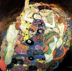 Gustav Klimt-The Virgin