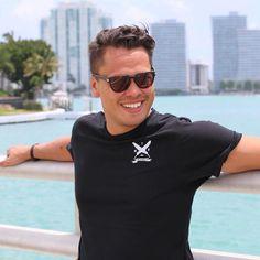 Simple roundneck #tshirt #allblackeverything #miami #beach #style #cuba #yacht #liv #soho #fontainebleau #