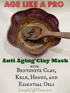 Age Like a Pro - Anti Aging Clay Mask #health #beauty #lifestyle #antiaging