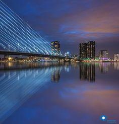 Rotterdam reflections by Ilya Korzelius on 500px