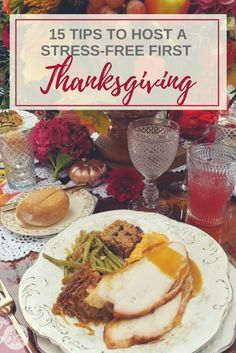 15 Tips to Host A Stress-Free First Thanksgiving- See Mom Click