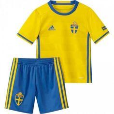 #Sverige Trøje Børn 2016 Hjemmebanetrøje Kort ærmer.199,62KR.shirtshopservice@gmail.com