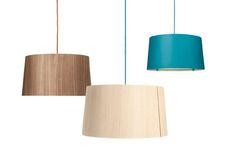SOPHIE veneer lamp by lasfera design by Henri Garbers - lasfera Natural Light, Natural Wood, Veneer Plywood, Handmade Lamps, L And Light, Lamp Design, Urban Design, Different Colors, Colours