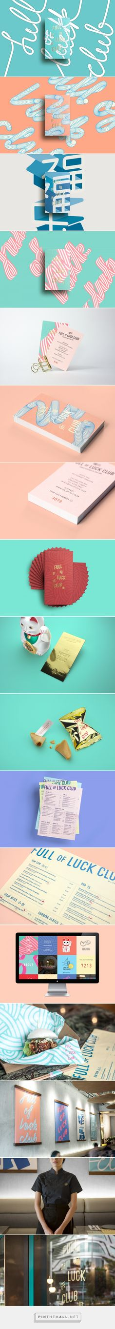 Full of Luck Club on Behance - created via https://pinthemall.net