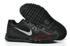 Black Dark Grey Nike Air Max 2013 Men's Running Shoes
