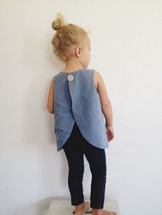 Everybody wants to obtain baby clothes because they're cute and adorable. Ultimately, you can place on the cutest baby clothes you have always lovedtulip pinafore top // um, adult sizes please? Baby Girl Fashion, Fashion Kids, Fashion Wear, Sewing For Kids, Baby Sewing, Sewing Clothes, Diy Clothes, Fashion Clothes, Girl Clothing