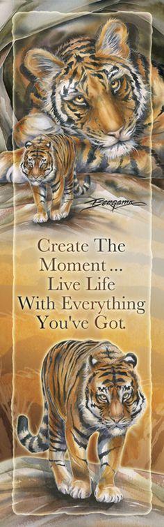 """Wild Cats / Live Life"" par Jody Bergsma"