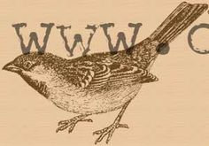 Bird rubber stamp WM 35x25 inches van dragonflybuzz op Etsy, $8,50