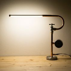 PIPESTORY  Pipe lamp / Copper lamp /Copper pipe by PipeStoryLamp