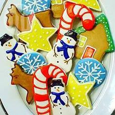 Biscoitos de Natal (massa de cream cheese) @ allrecipes.com.br