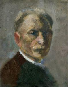 Emil Nolde · Autoritratto · 1899 · Museen Böttcherstraße · Bremen