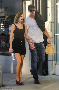 Stunning pair: Alexa is currently loved-up with her handsome actor beau Alexander Skarsgard, 39