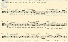 Viola - One Day More - Les Miserables - Sheet Music, Chords, & Vocals