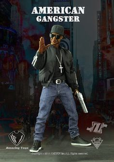 "toyhaven: AMZ Toys 1/6 scale American gangster the first chapter: The king of brooklyn AKA ""Z"" is not DAM"