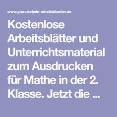 De 70 bedste billeder fra Mathe Arbeitsblätter på Pinterest