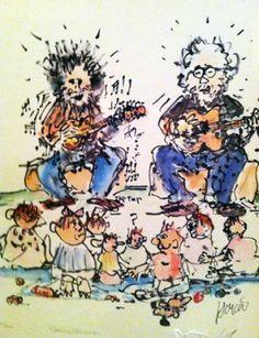 Garcia / Grisman 1993 by Jerry Garcia