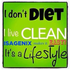 Looking for sustainable solutions for your health?   It's easy!  With 30+ years in health  wellness and 10 years with Isagenix - we can create a lifestyle that works uniquely for you!  Message me and let's get you started!