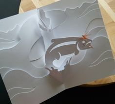 Fly Fishing Kirigami Posted by MC Reelpure