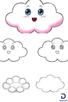 71 meilleures images du tableau dessin nuage   Drawings, Sketches et Drawing s