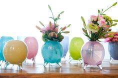 "Vases ""Evita Summer"" (mouth blown glass)"