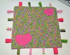 """DIY: Make Your Own """"Taggies"""" Blanket   Project Nursery"""