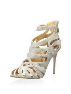 Badgley Mischka Women's Taylar Dress Sandal (Platino)