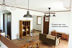 ●カフェ風モデルハウス、ひとまず完成*インテリアコーディネートで気を付けたこと● の画像|・:*:ナチュラルアンティーク雑貨&家具のお部屋・:*