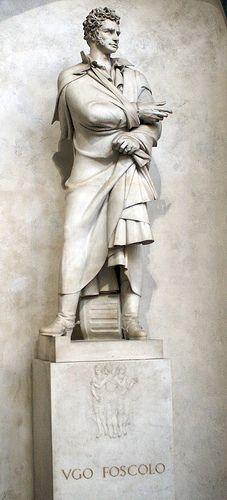 Santa Croce, Ugo Foscolo